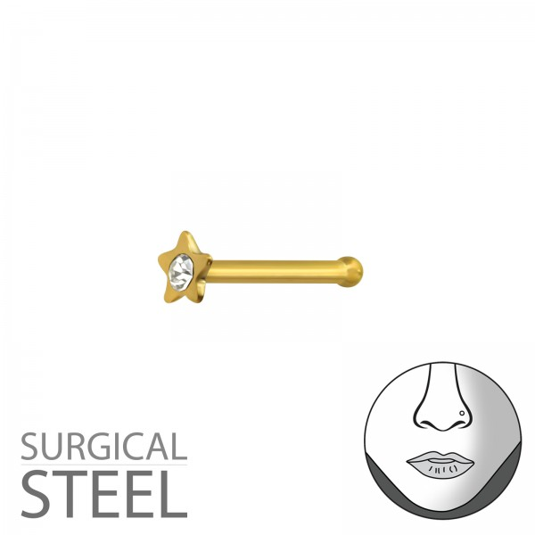Labret & Barbell NSD-052-GD/37434