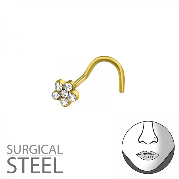 Labret & Barbell NSD-132-GD/37421