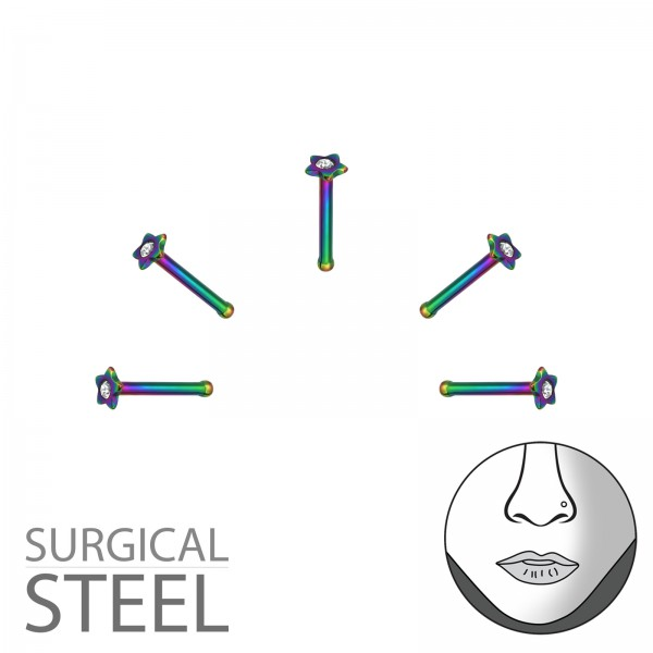Labret & Barbell NSN-08-RB/36010