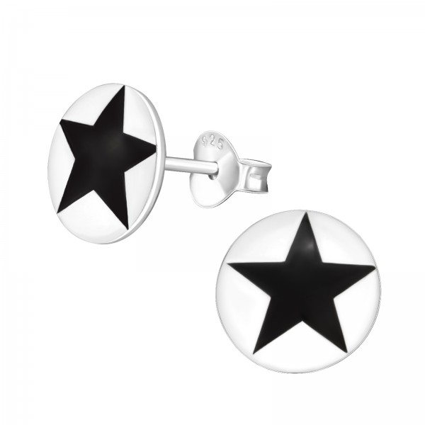 Colorful Ear Studs CCRD-42 STAR (LOGO)/11982
