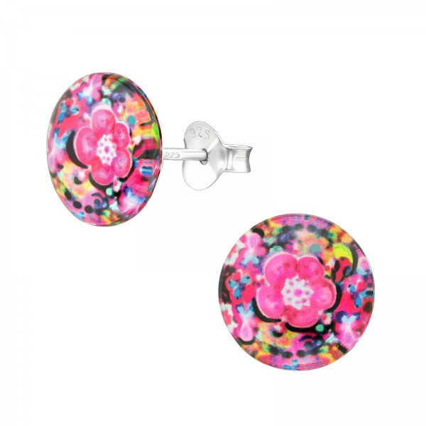 Colorful Ear Studs CCRD30-BD1851-126/38756