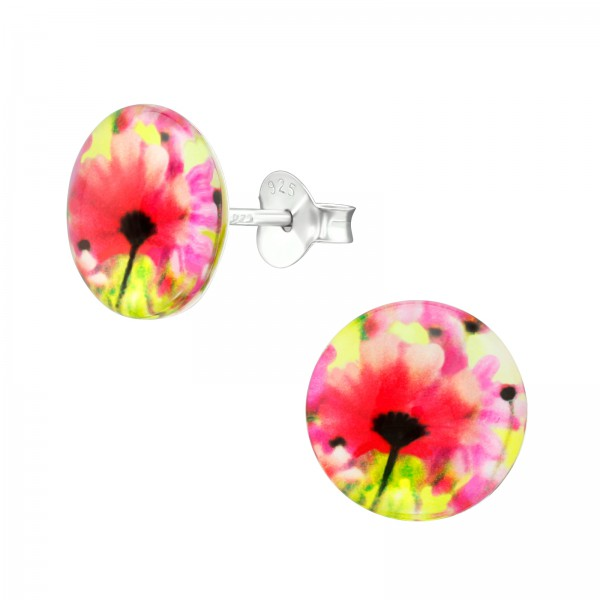 Colorful Ear Studs CCRD30-BD1851-128/38757