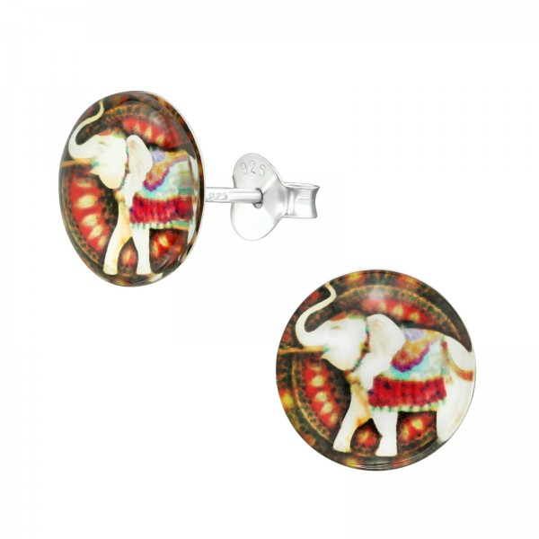 Colorful Ear Studs CCRD30-BD1851-3/38747