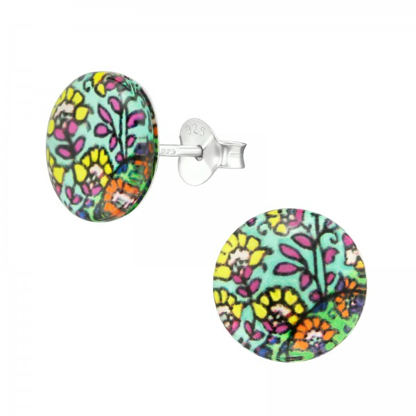 Colorful Ear Studs CCRD30-BD1851-62/38754