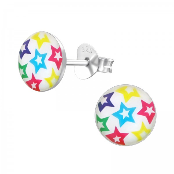 Colorful Ear Studs CCRD30-LG006/19693