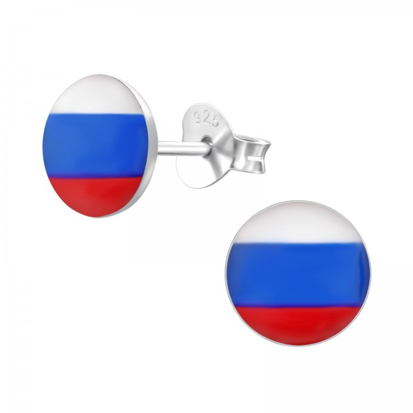 Colorful Ear Studs CCRD30-LG106 RUSSIA/24436