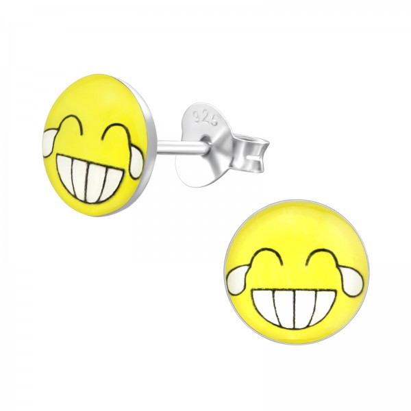 Colorful Ear Studs CCRD30-LG160 YEL/35422