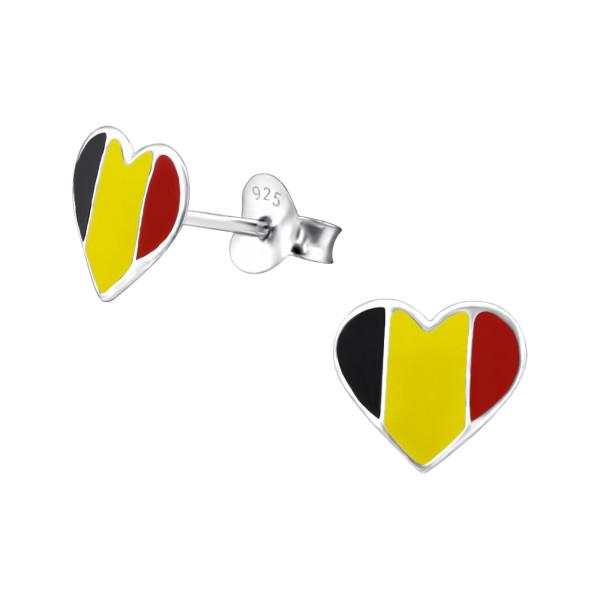 Colorful Ear Studs ES-APS1113 BELGIUM/23050