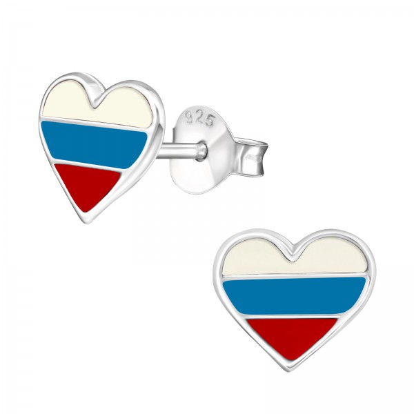 Colorful Ear Studs ES-APS1115 RUSSIA/22117