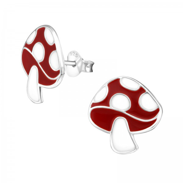 Colorful Ear Studs ES-APS1142 RED/WH/17261