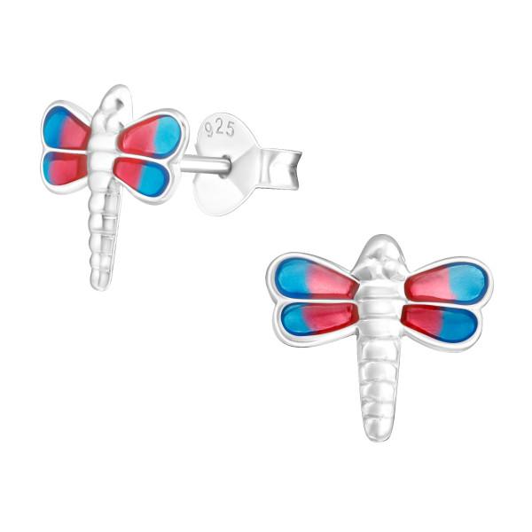 Colorful Ear Studs ES-APS1239 PK/BL MIX/19056
