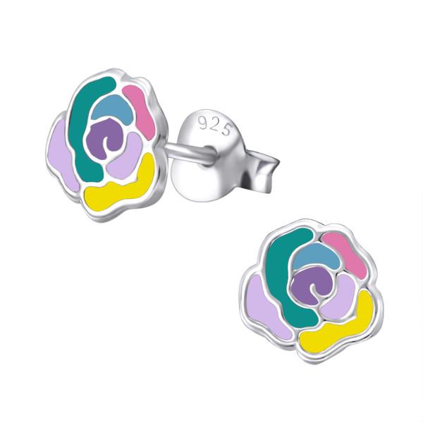 Colorful Ear Studs ES-APS1434-MIX/31564