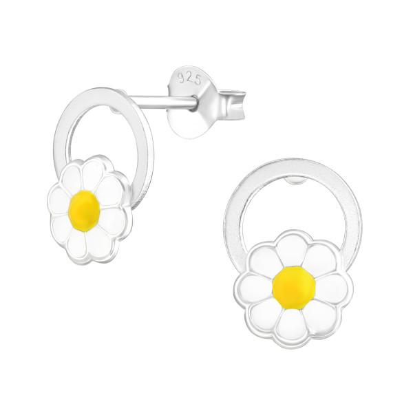 Colorful Ear Studs ES-APS2688-A-0.5M-APS1454 WH/YEL/38468