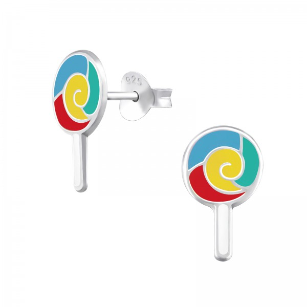Colorful Ear Studs ES-APS3224-N3/38229