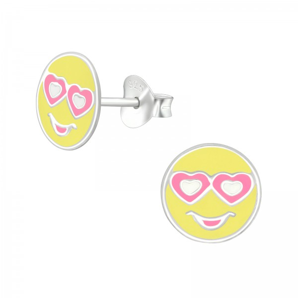 Colorful Ear Studs ES-APS3309 PK/YEL/39640