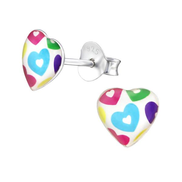 Colorful Ear Studs ES-APS3598-LG385/31713