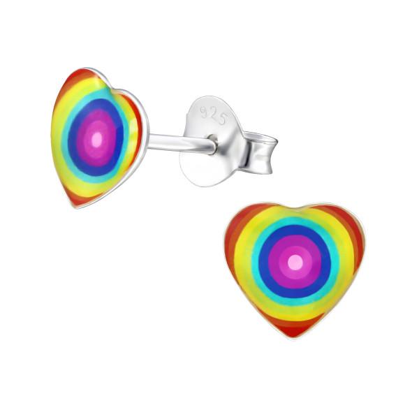 Colorful Ear Studs ES-APS3598-LG386/31704