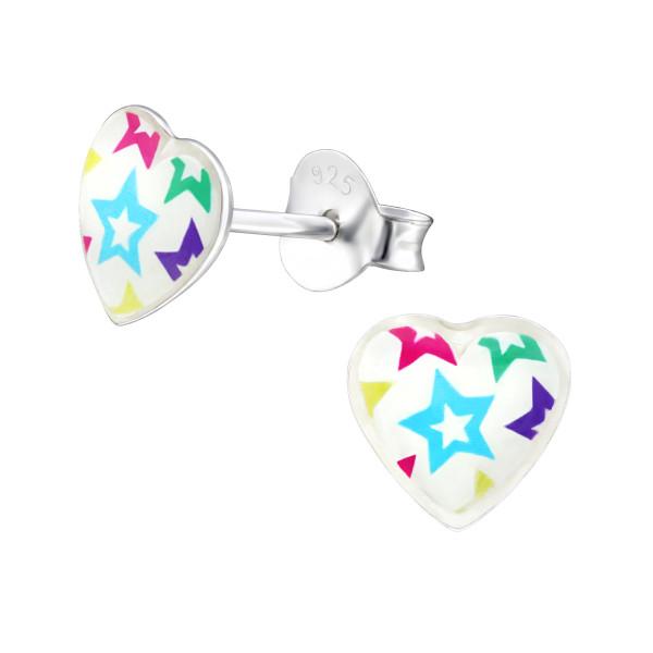 Colorful Ear Studs ES-APS3598-LG391/31712