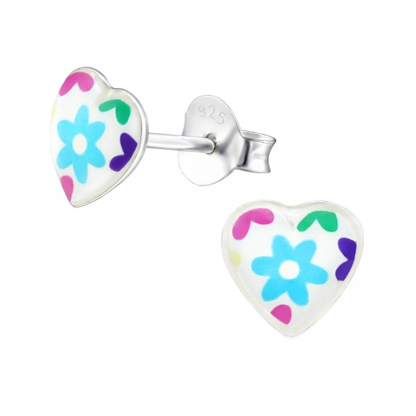 Colorful Ear Studs ES-APS3598-LG432/31711