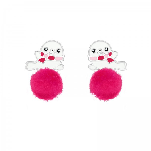 Colorful Ear Studs ES-APS3770-N4-POM-8/37155
