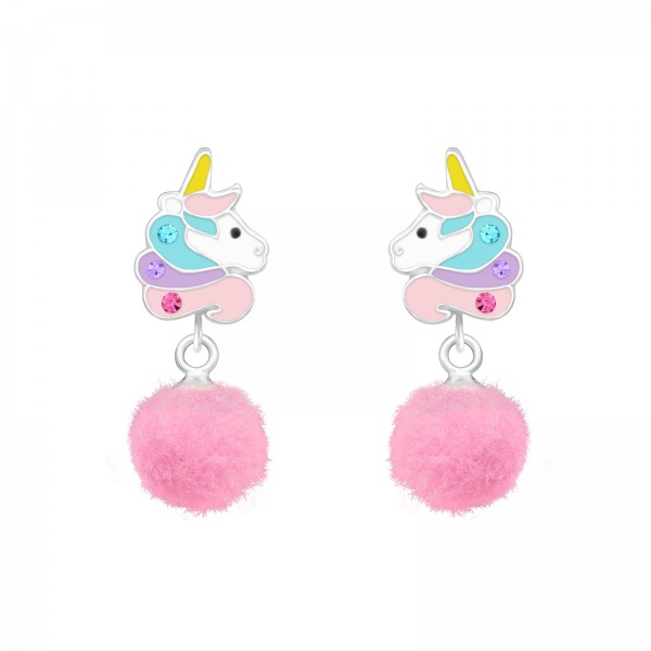 Colorful Ear Studs ES-APS3785-HP-JP3-POM-8/37166