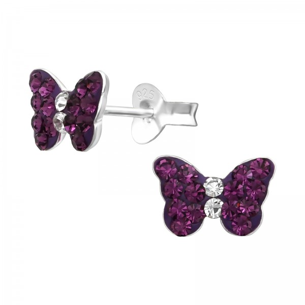 Crystal Ear Studs CC-APS1261 (PP-9) AM/CRY/38297
