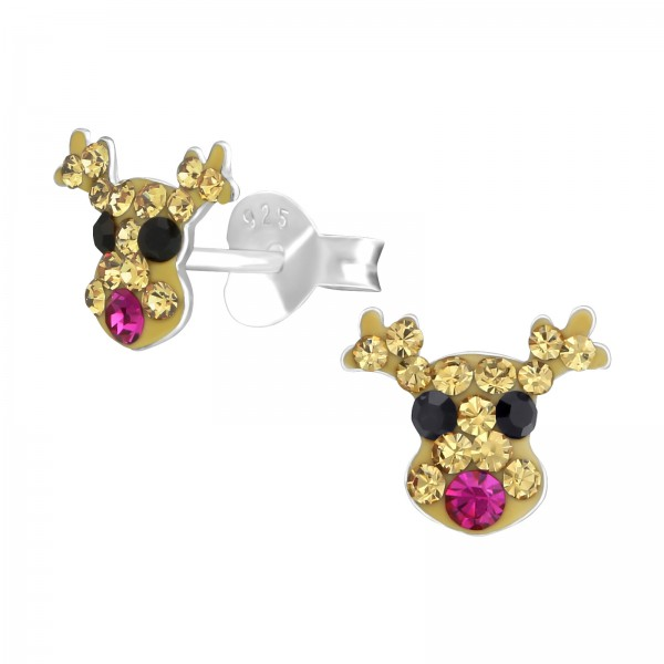 Crystal Ear Studs CC-APS1777 FUS/36522