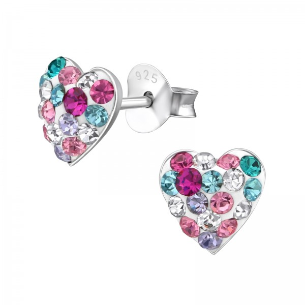 Crystal Ear Studs CC-APS1800 MIX2/33434