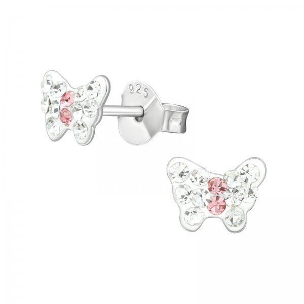 Crystal Ear Studs CC-APS1992-RP CRY/LT.ROSE/39853