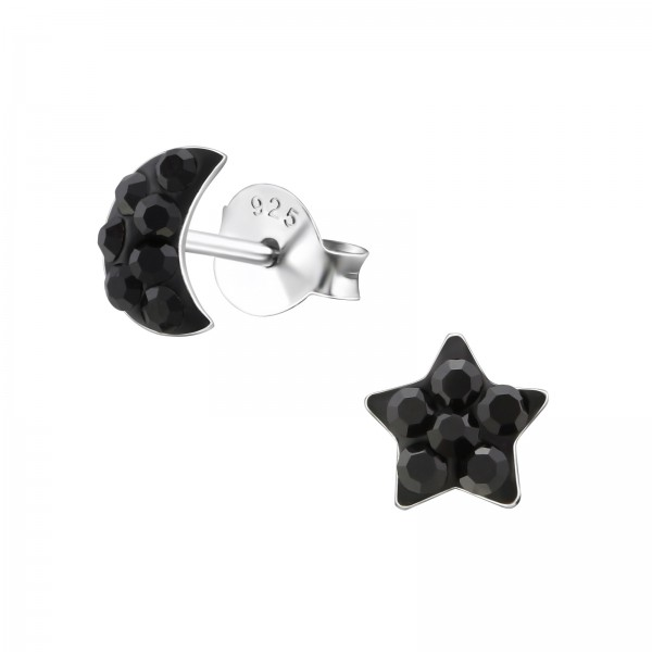 Crystal Ear Studs CC-APS1993-APS1502/34522