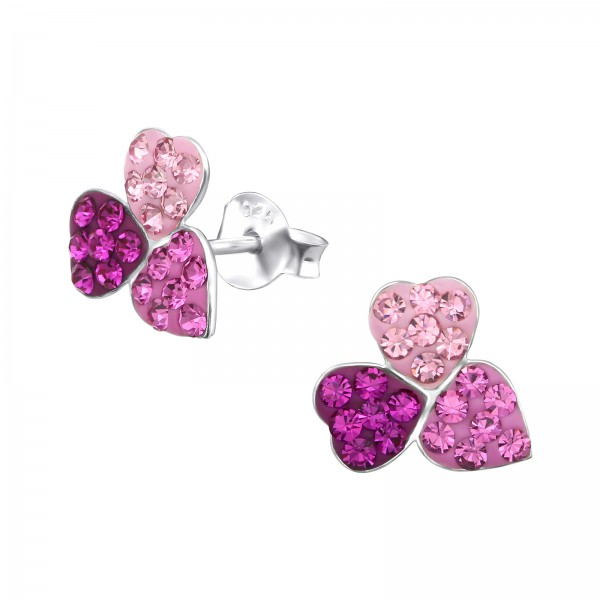Crystal Ear Studs CC-APS2064/26559