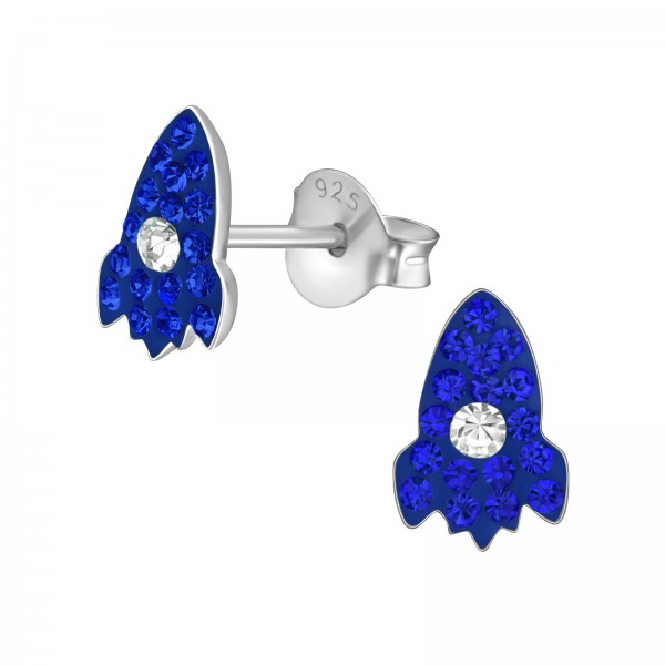 Crystal Ear Studs CC-APS2070-RP SAP/CRY/38012