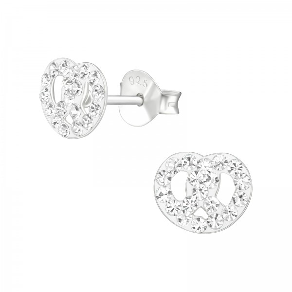 Crystal Ear Studs CC-APS2717/38673