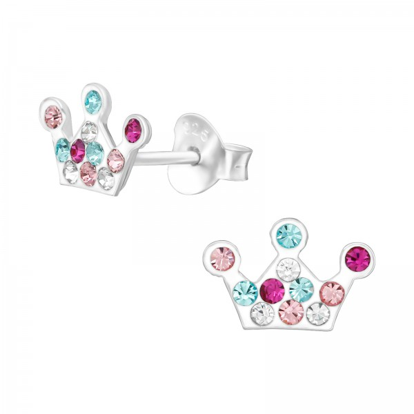 Crystal Ear Studs CC-APS3752 MIX/38766