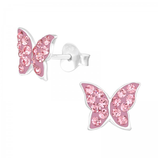 Crystal Ear Studs CC-APS4141-PP6/39868