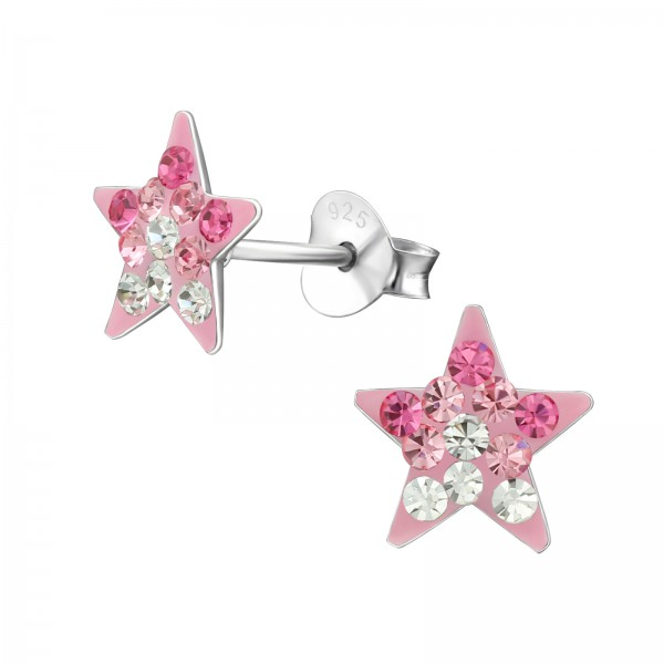 Crystal Ear Studs CC-APS42 (PP9) MIX/39947