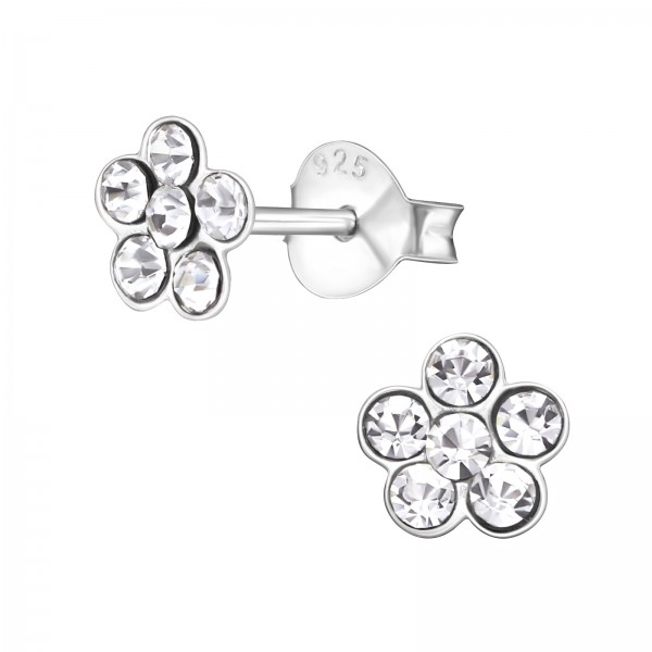 Crystal Ear Studs ES-APS1214/21830