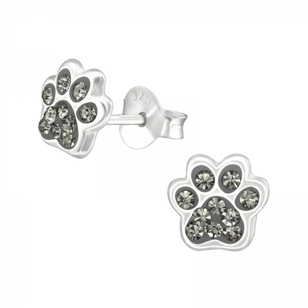 Crystal Ear Studs ES-APS2544-NH/37017