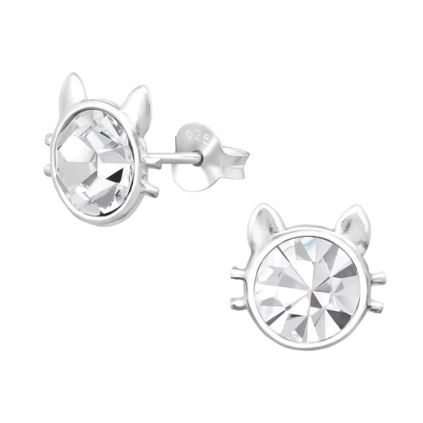 Crystal Ear Studs ES-APS2753/30419