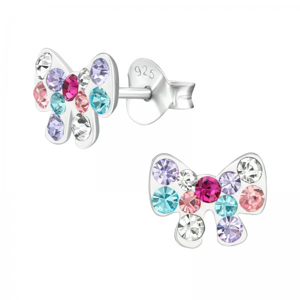 Crystal Ear Studs ES-APS3444 MIX/38675