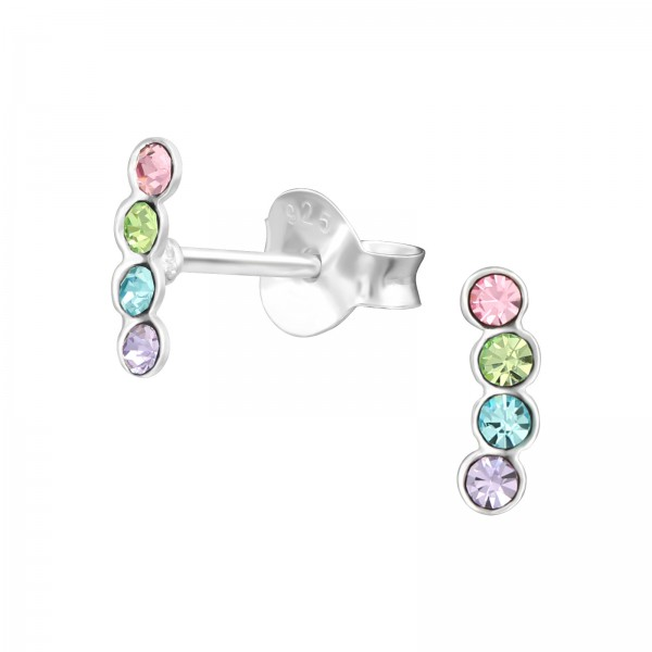 Crystal Ear Studs ES-APS3500/37172