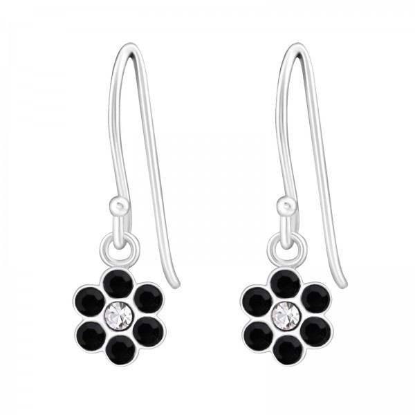 Earrings ER-APS1263 CRY/JET/26807
