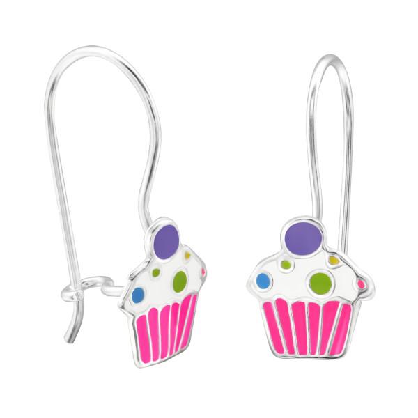 Earrings ER-APS2520-APS1388 PK/WH/PUR/28665