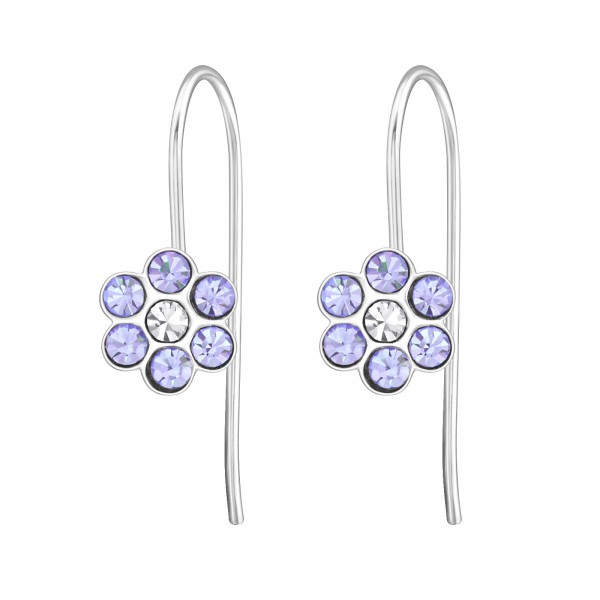 Earrings ERN-APS1263 VIO/CRY/30210