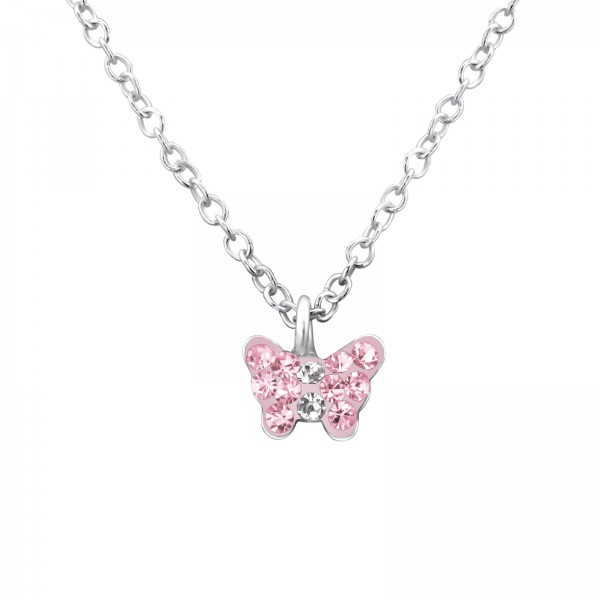 Necklace FORZ25-TOP-APS1992 LT.ROSE/CRY/29866