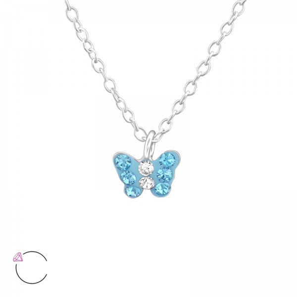 Necklace FORZ25-TOP-APS1992-SWR AQ/CRY/37645