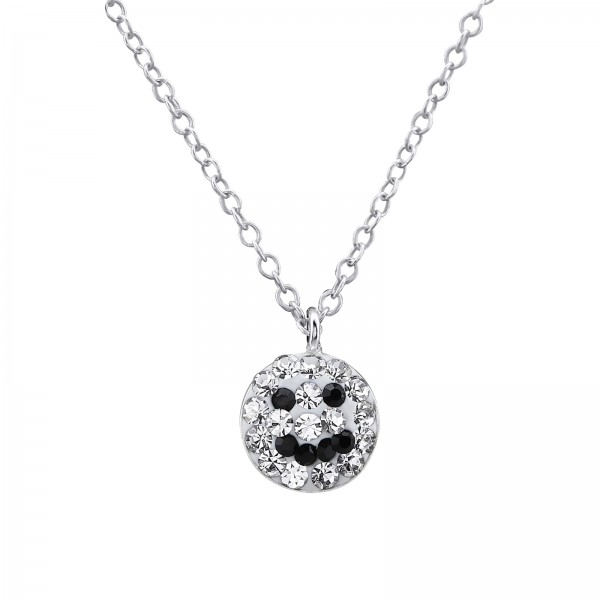 Necklace FORZ25-TOP-APS2685-CV CRY/JET/29859