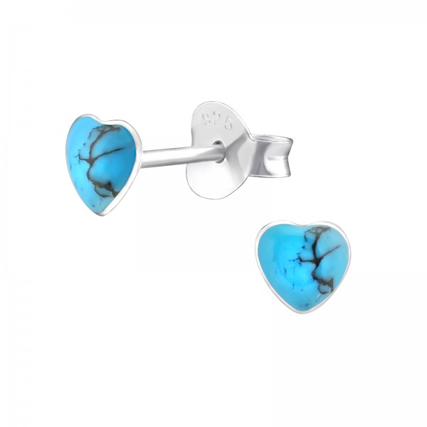 Plain Ear Stud ES-APS1420-SHELL/33025