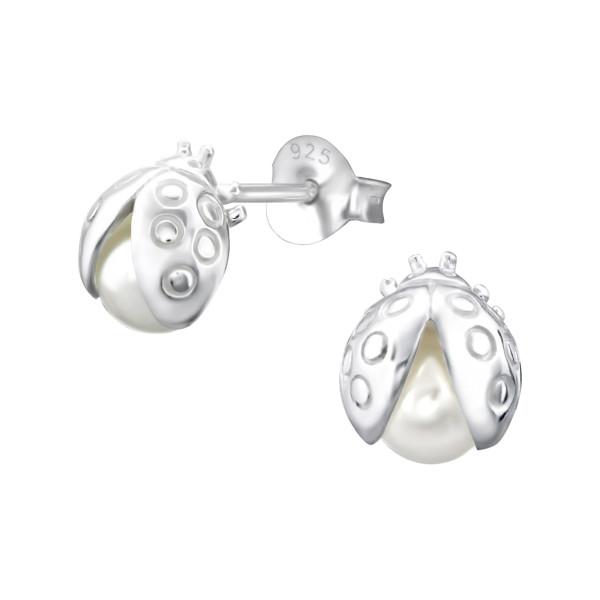 Plain Ear Stud ES-JB7385-PPL5/24315