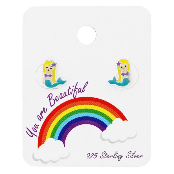 Set & Jewelry on Card C1-ES-APS1625 BL/PUR/34102
